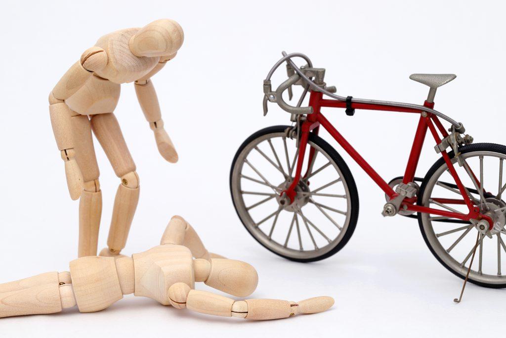自転車やバイクを運転中に事故